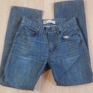 Levis boys straight leg 514 Jean's 16
